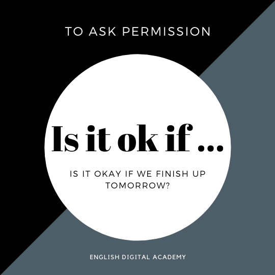 How to use if to ask permission