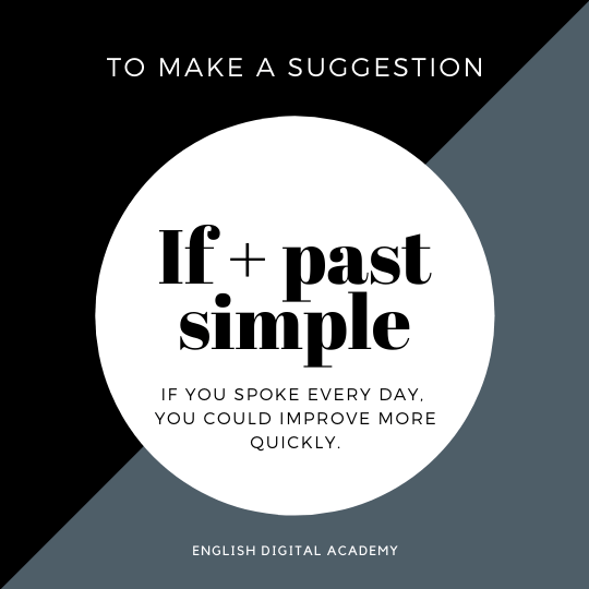 How to make a suggestion using IF