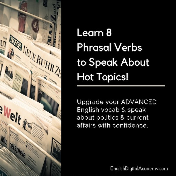 Business English Expressions phrasal verbs