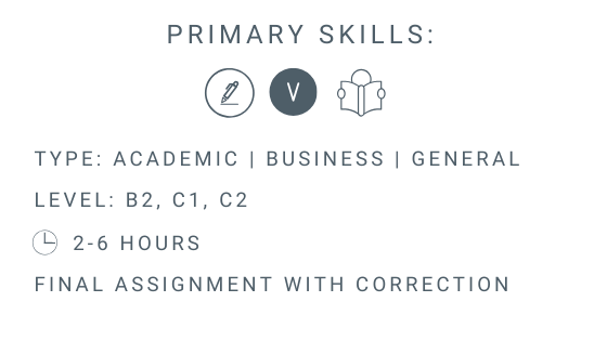 How to write a summary online course