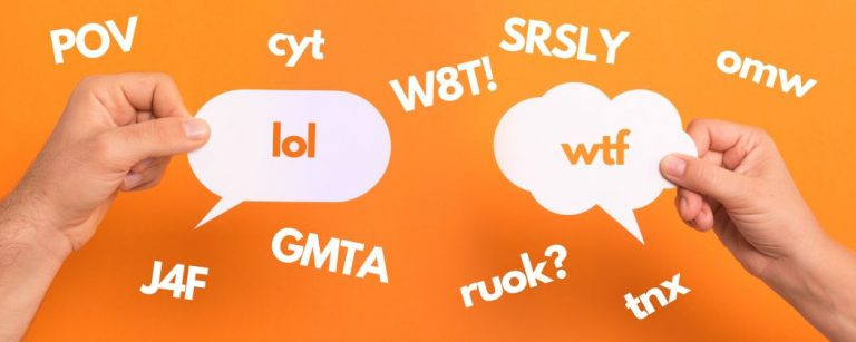31 Abbreviations You Need to Know for Texts & Tweets in English