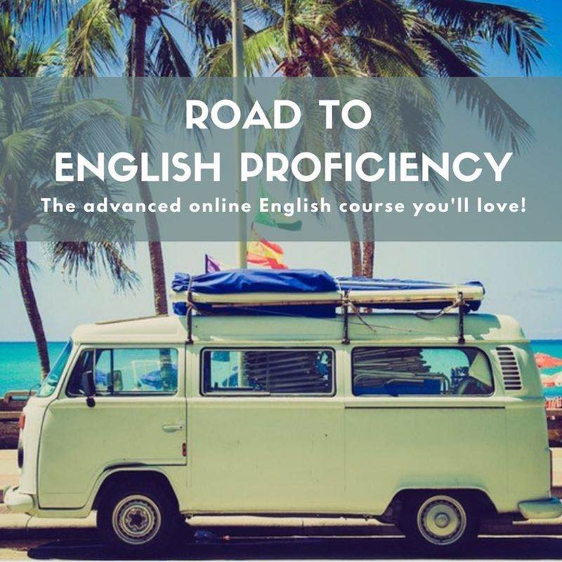 Road to English Proficiency online course