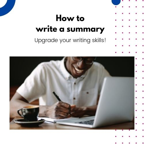 How to write a summary English course