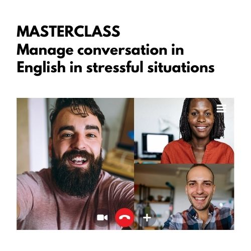 Manage conversation in English