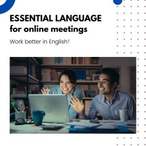 Essential Language for online meetings